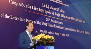 Bộ Ngoại giao kỷ niệm 25 năm ngày UNCLOS năm 1982 có hiệu lực